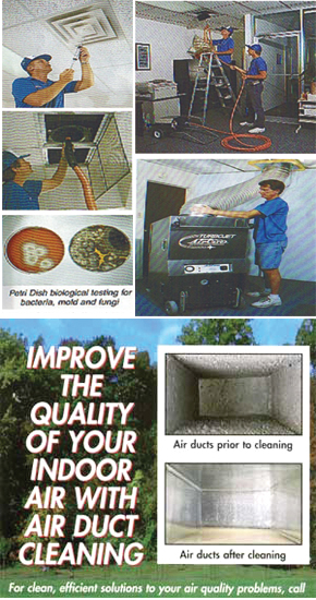 Air Duct Decontamination Services