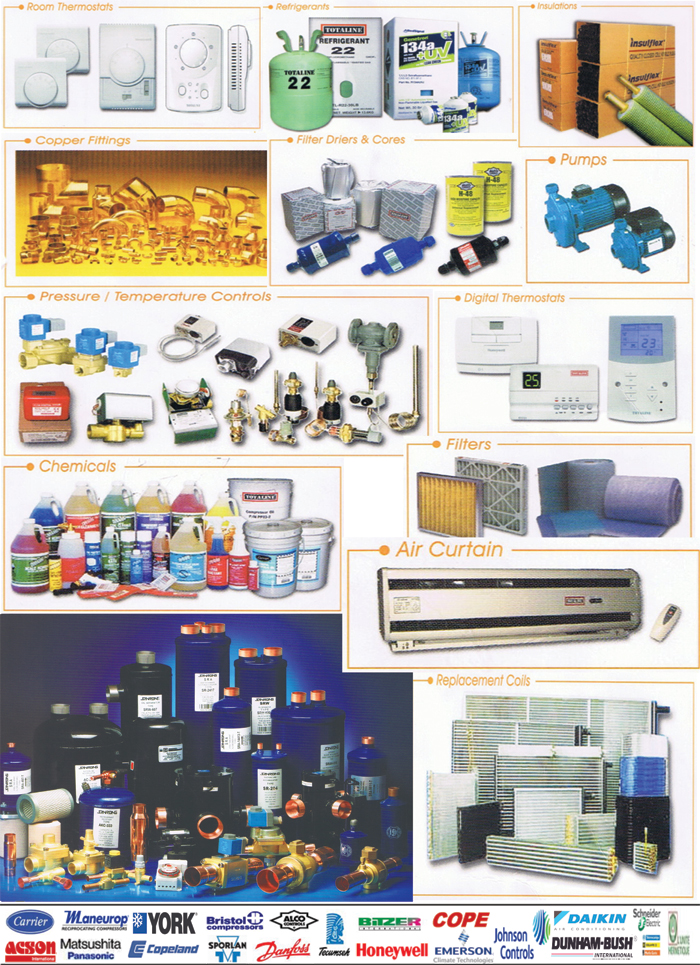 Aircond Parts & Accessories